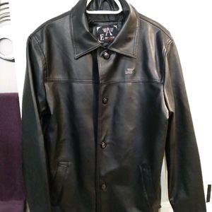 A/E Emporio Faux Leather Jacket